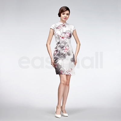 Picture of Pink Floral Cheongsam