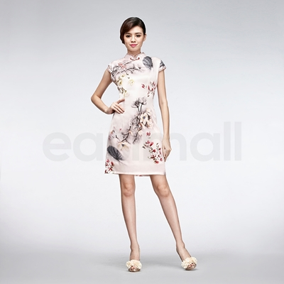 Picture of Floral Painting Cheongsam